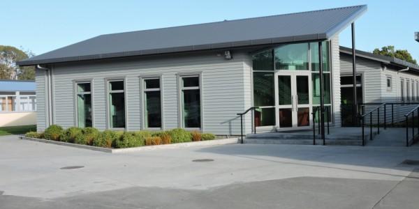 Flaxmere College admin block