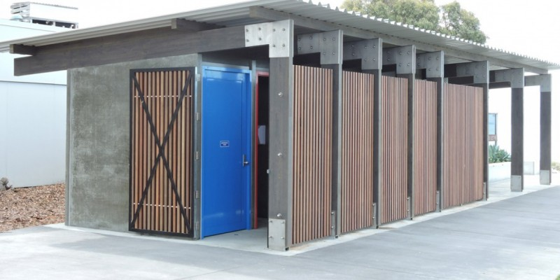 Napier Chainging Shed and Toilets